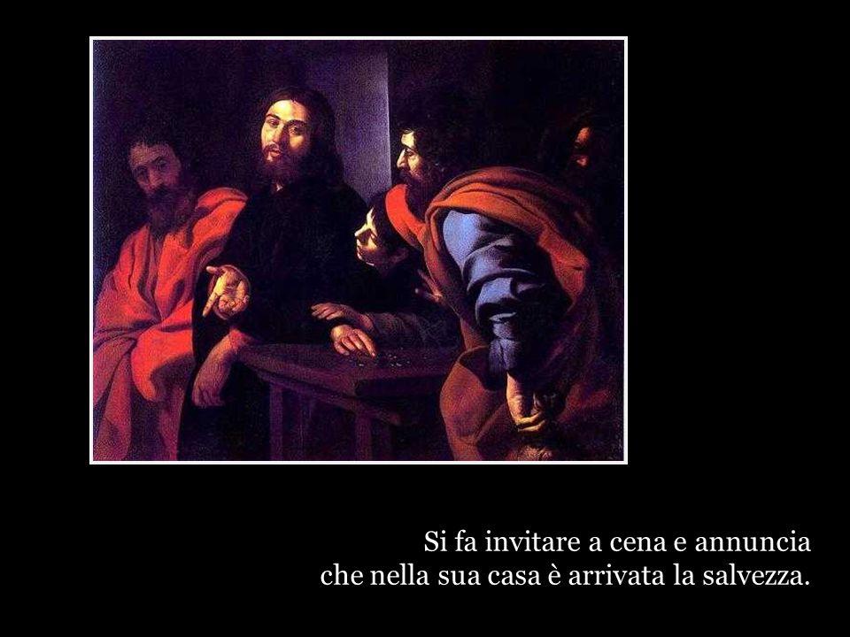 Gesù non dice: quest'uomo è un ladro, uno sporco funzionario che prende i soldi ai suoi concittadini per darli ai romani.
