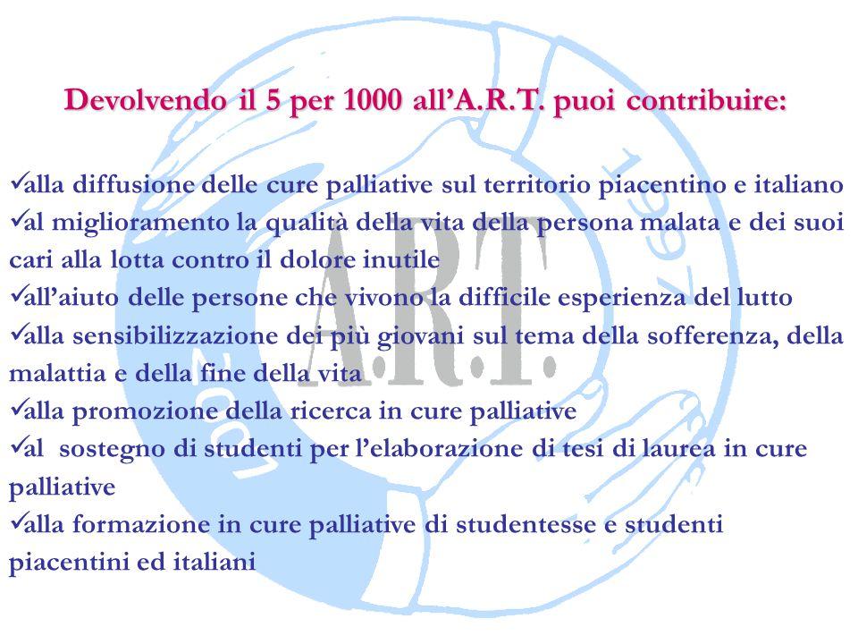 A.R.T.- La Bagnata - 29021 Bettola (PC) tel. 0523 91 76 86 - fax.