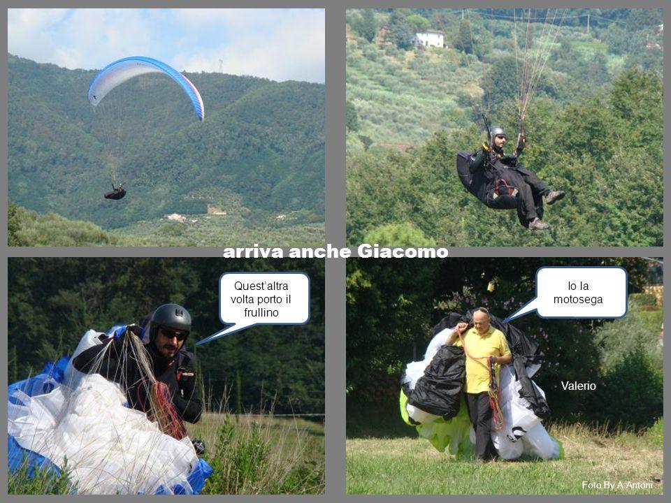 arriva anche Giacomo Quest'altra volta porto il frullino Io la motosega Valerio Foto By A.Antoni