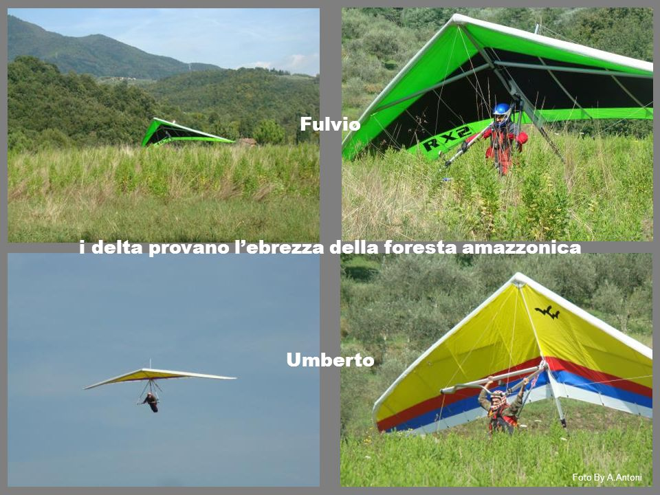 Fulvio Umberto i delta provano l'ebrezza della foresta amazzonica Foto By A.Antoni