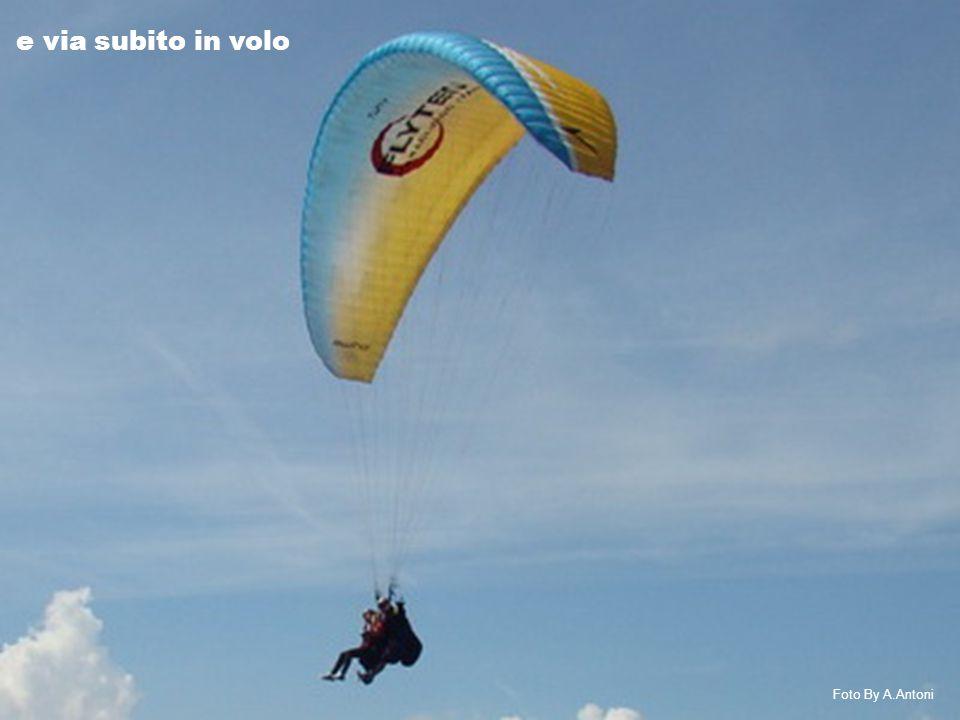 con piccole termiche che ci fanno galleggiare nell'aria Foto By A.Antoni