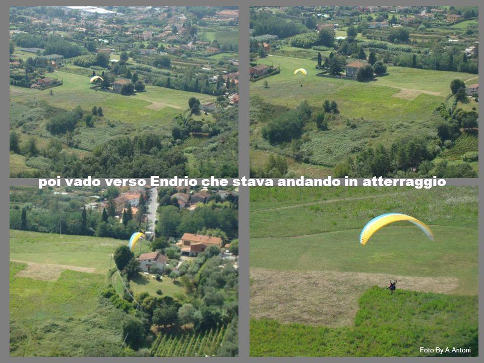 poi vado verso Endrio che stava andando in atterraggio Foto By A.Antoni