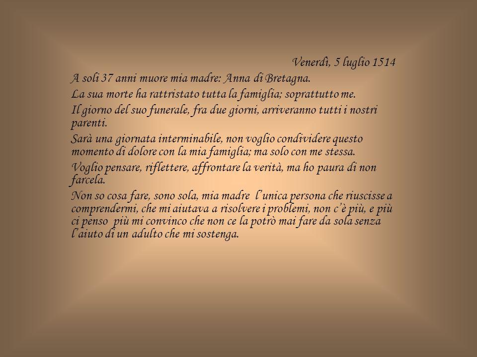 01 luglio 1518 Gustave non ha risposto alla mia lettera.