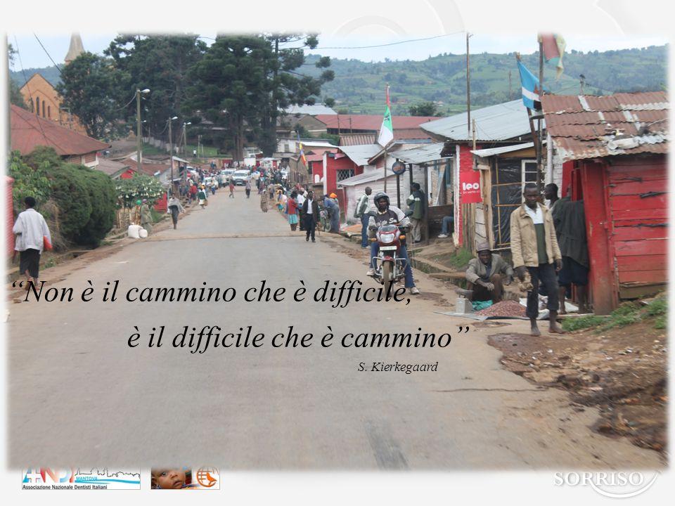 Non è il cammino che è difficile, è il difficile che è cammino S. Kierkegaard