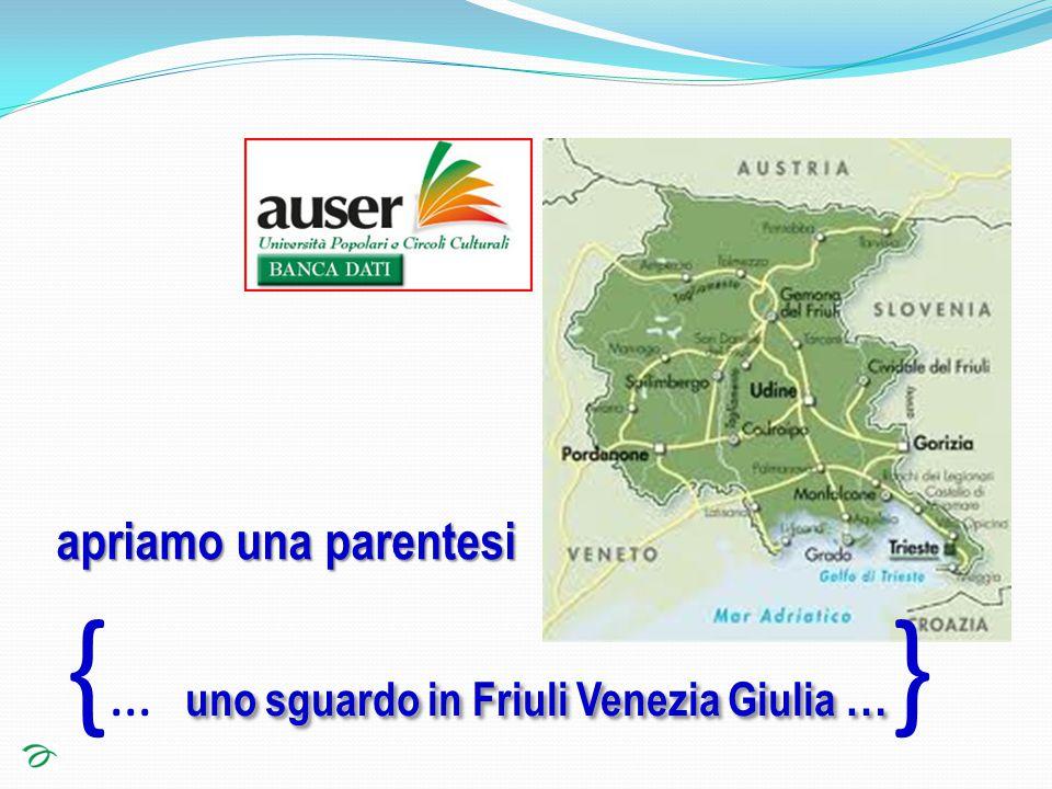 uno sguardo in Friuli Venezia Giulia … { … uno sguardo in Friuli Venezia Giulia … } apriamo una parentesi