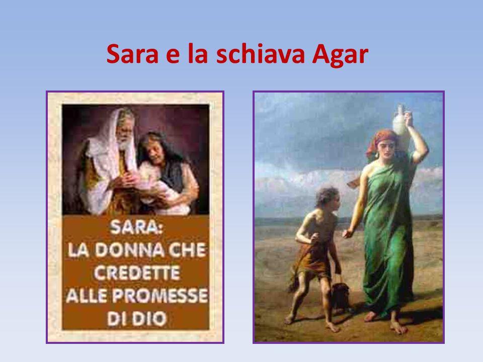 Sara e la schiava Agar