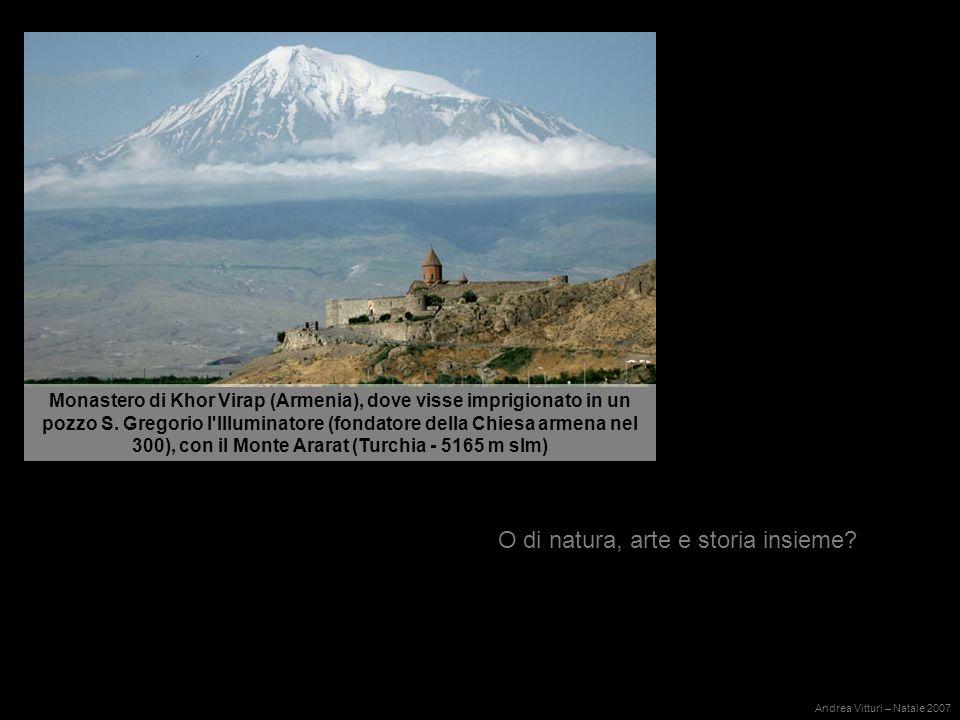 Monastero di Khor Virap (Armenia), dove visse imprigionato in un pozzo S.