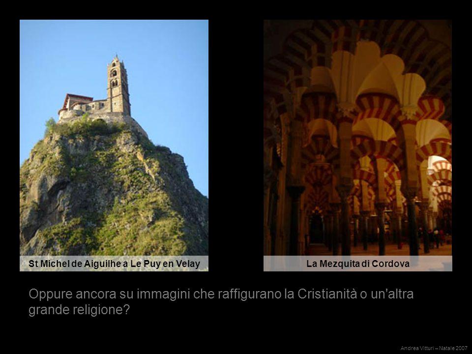 Oppure ancora su immagini che raffigurano la Cristianità o un altra grande religione.