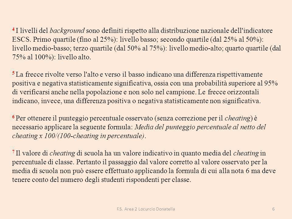 Le tavole 4a e 4b suddividono gli alunni in 5 gruppi di livello di apprendimento presenti nelle singole classi, nella scuola, in Puglia, nel sud e in Italia.