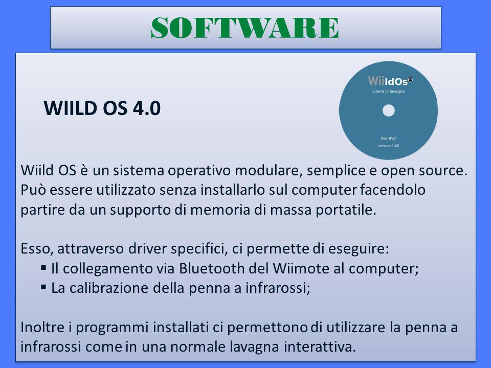 SOFTWARE WIILD OS 4.0 Wiild OS è un sistema operativo modulare, semplice e open source.