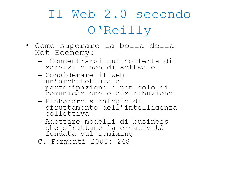 Cosa ne pensa l'inventore del web.Web 1.0 was all about connecting people.