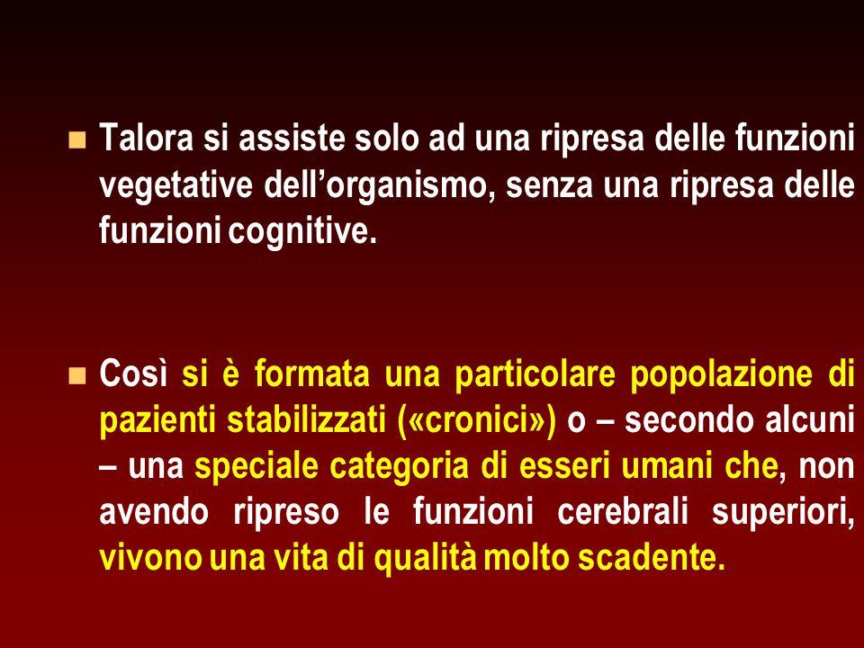 Livelli di consapevolezza ( awareness ) e di vigilanza ( arousal ) in diverse situazioni di coscienza.