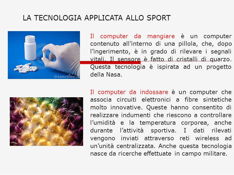 Il computer da mangiare è un computer contenuto all'interno di una pillola, che, dopo l'ingerimento, è in grado di rilevare i segnali vitali. Il senso