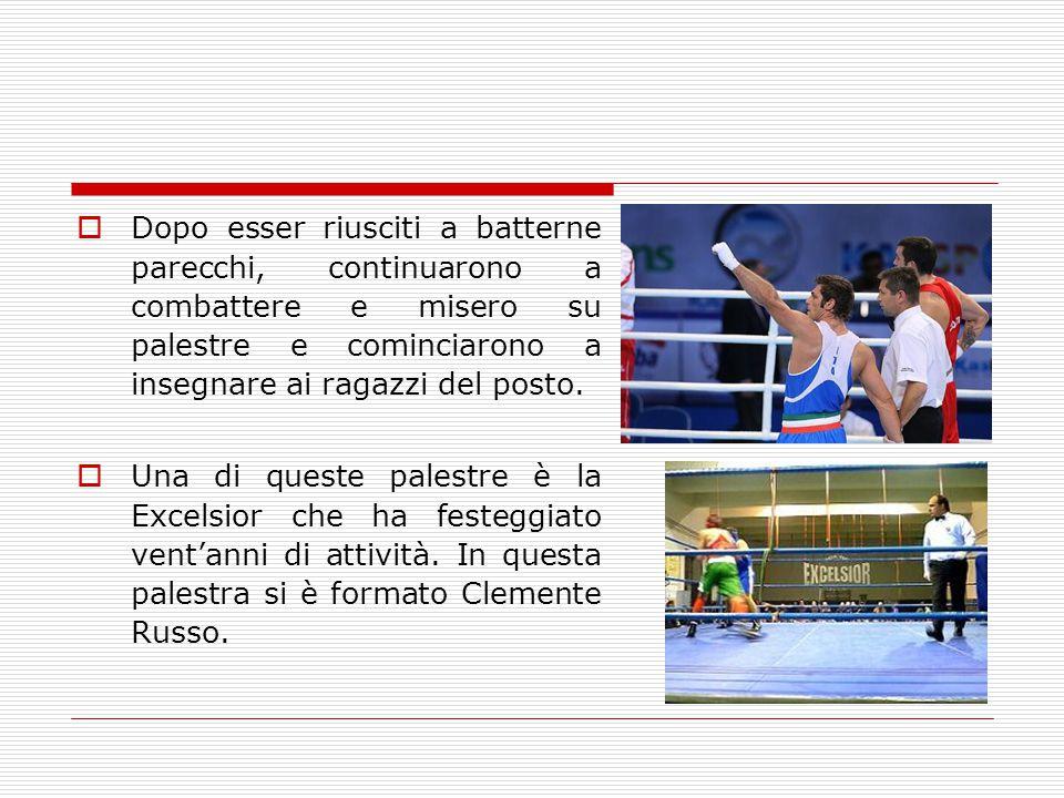 Il campione del pugilato  Clemente Russo è un pugile, attore e personaggio televisivo italiano.