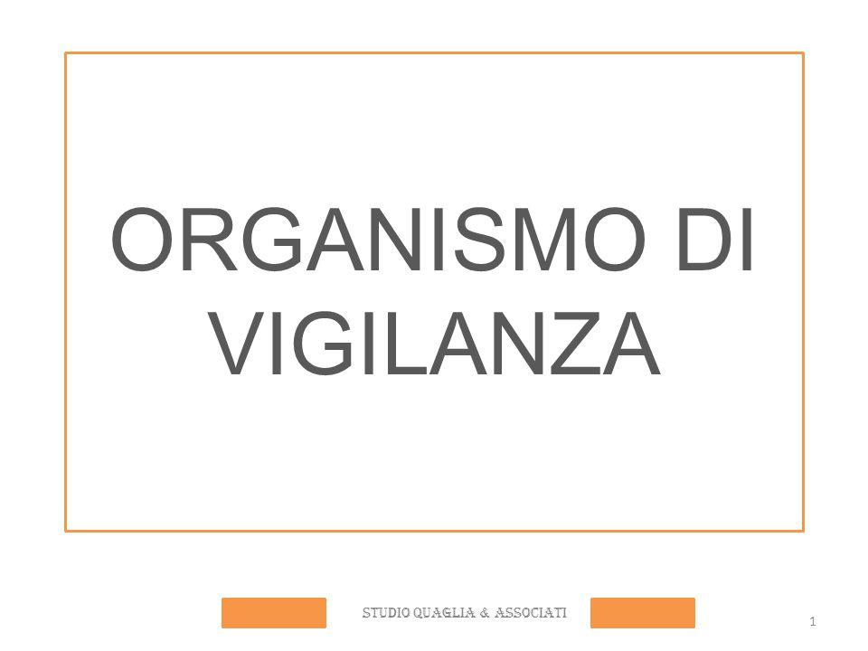 ORGANISMO DI VIGILANZA STUDIO QUAGLIA & ASSOCIATI 1