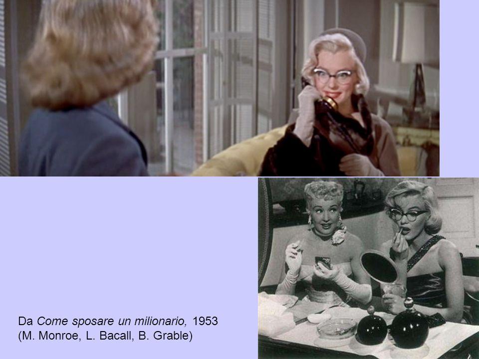 Da Come sposare un milionario, 1953 (M. Monroe, L. Bacall, B. Grable)