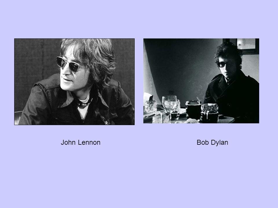 John LennonBob Dylan