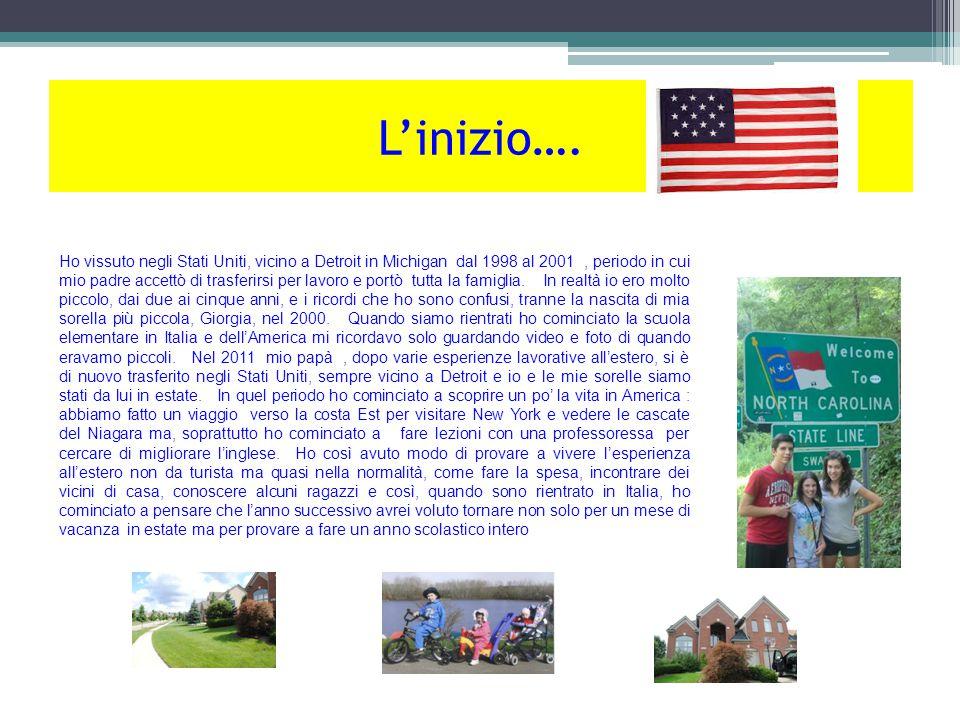 Novi High School Luglio 2012 A Luglio 2012 è cominciato il mio anno negli Stati Uniti.