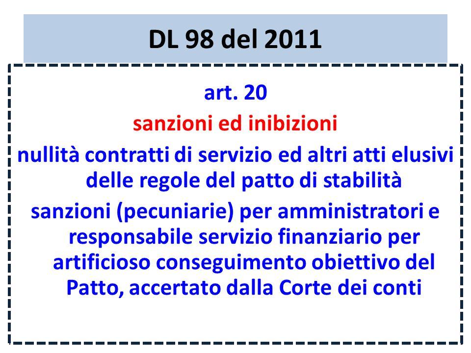DL 98 del 2011 art.