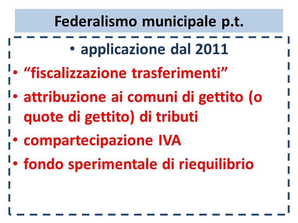 nuovo Patto di stabilità 2011-2013  Esclusioni espresse :  entrate/spese provenienti direttamente o indirettamente da UE  entrate/spese per enti locali commissariati ex art.