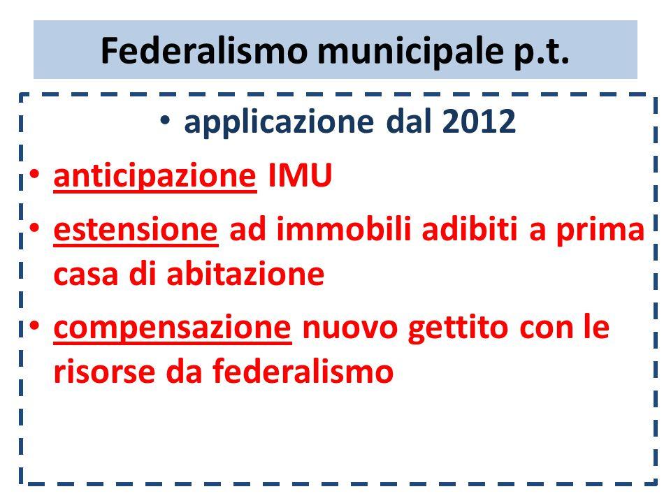 Patto di stabilità 2012-2014  Comunicazioni a MEF determinazione obiettivo monitoraggio semestrale certificazione finale del risultato