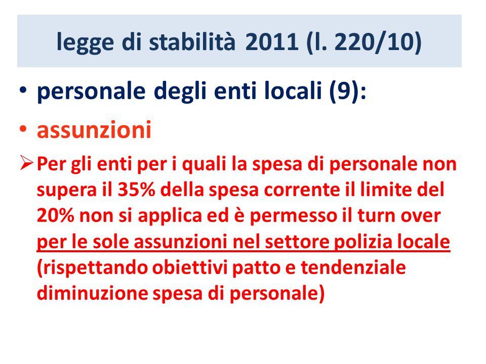 legge di stabilità 2011 (l.