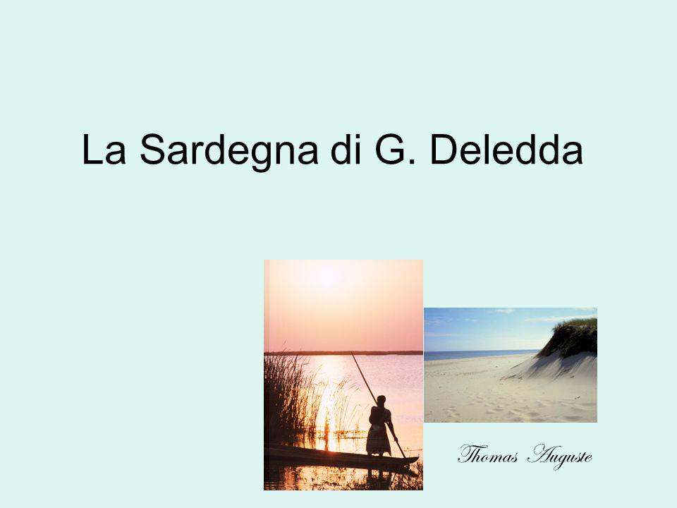 La Sardegna di G. Deledda Thomas Auguste