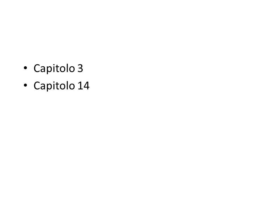 Capitolo 3 Capitolo 14