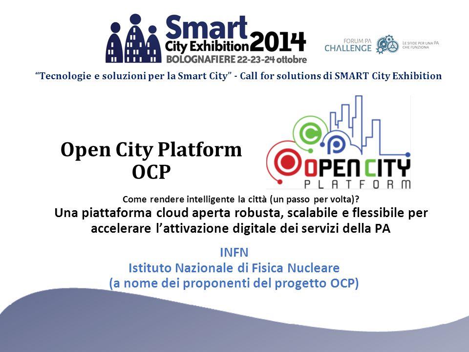 Tecnologie e soluzioni per la Smart City - Call for solutions di SMART City Exhibition Presentazione dell'organizzazione ATI Toscana/E.R.
