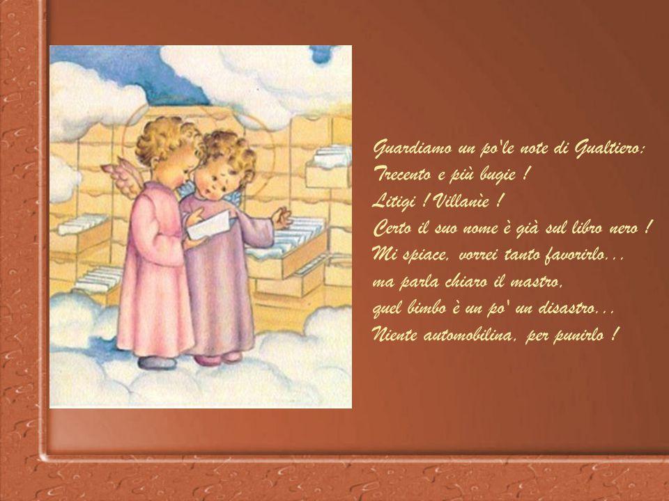Oh quante, quante letterine belle m'arrivano quassù !: Caro Bambin Gesù, mi piaccion tanto dolci e caramelle... vorrei... vorrei... vorrei... Non c'è
