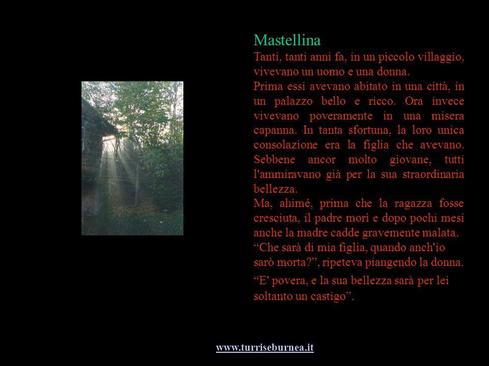 www.turriseburnea.it Mastellina Tanti, tanti anni fa, in un piccolo villaggio, vivevano un uomo e una donna. Prima essi avevano abitato in una città,