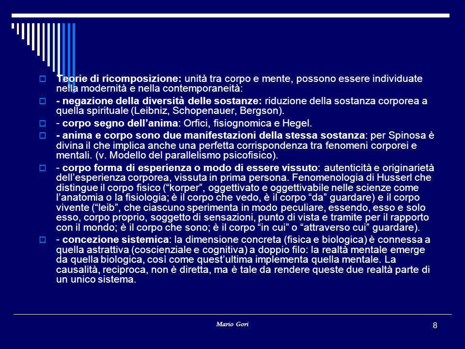Mario Gori 99 Indicazione operativa (algoritmica)Le indicazioni possono anche essere di carattere algoritmico, formulate più o meno così: Tracciate una linea in modo tale che procedendo di un infinitesimo cambiate direzione di un infinitesimo, sempre dalla stessa parte.