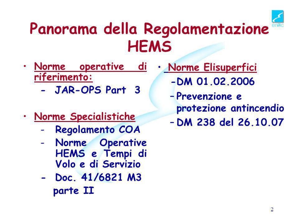 La Regolamentazione ENAC per l'HEMS Luigi Simoncini Ente Nazionale Aviazione Civile Elisoccorso alpino e Medicina di Montagna Courmayeur 14-15novembre 2008