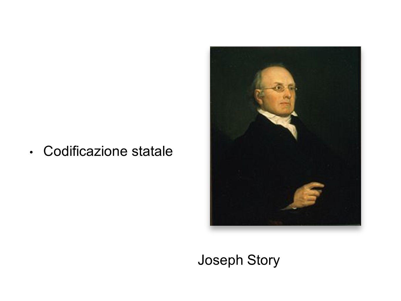 Codificazione statale Joseph Story