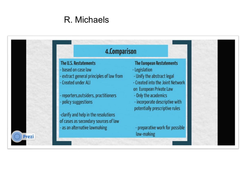 R. Michaels