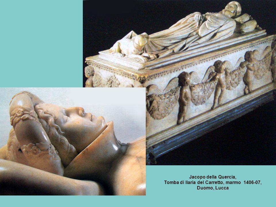Jacopo della Quercia, Tomba di Ilaria del Carretto, marmo 1406-07, Duomo, Lucca