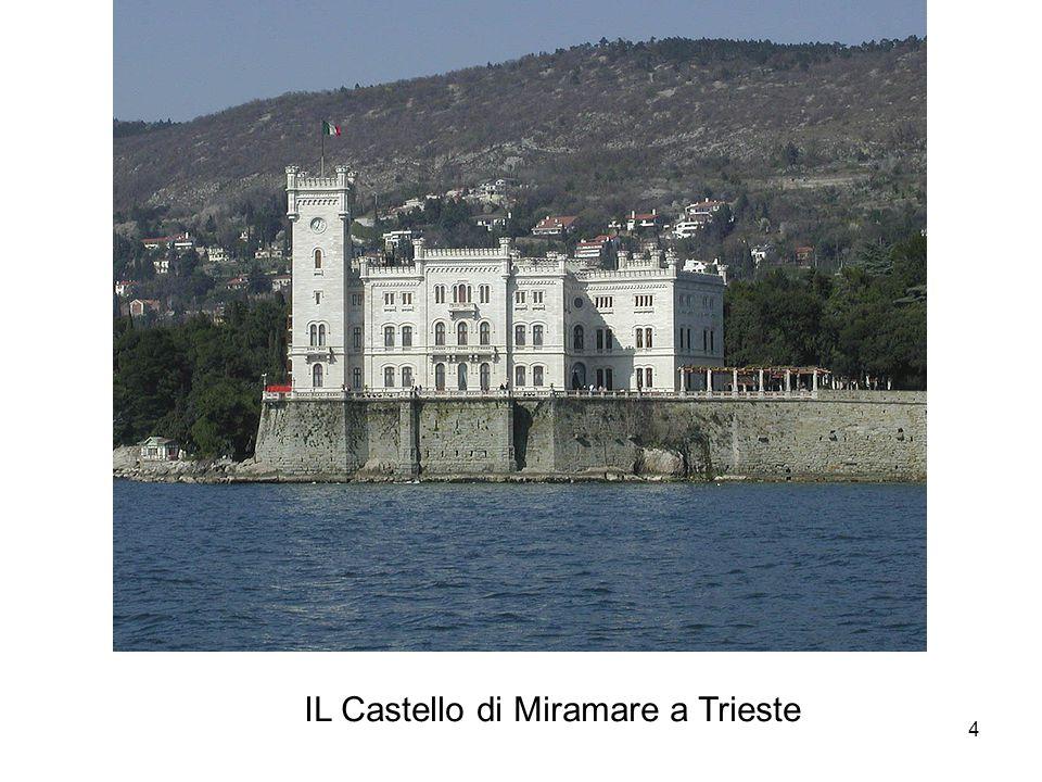 IL Castello di Miramare a Trieste 4