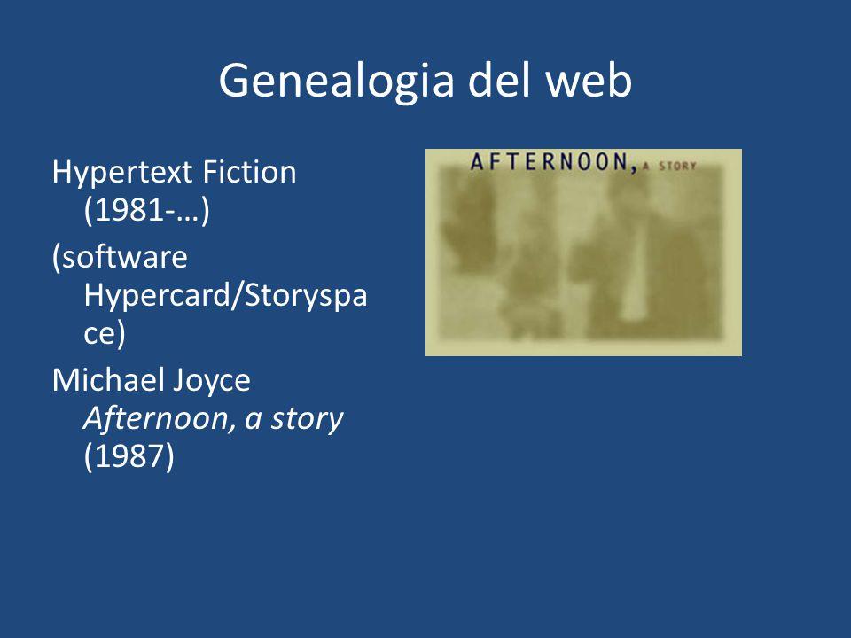 Genealogia del web The World Wide Web: Tim Berners- Lee (1991)