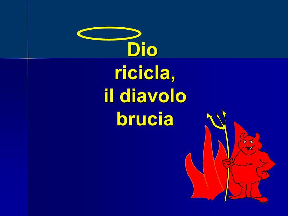 Dioricicla, il diavolo brucia