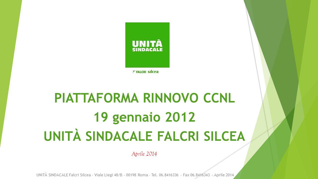 UNITÀ SINDACALE Falcri Silcea - Viale Liegi 48/B - 00198 Roma - Tel.