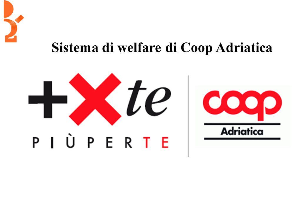 Sistema di welfare di Coop Adriatica