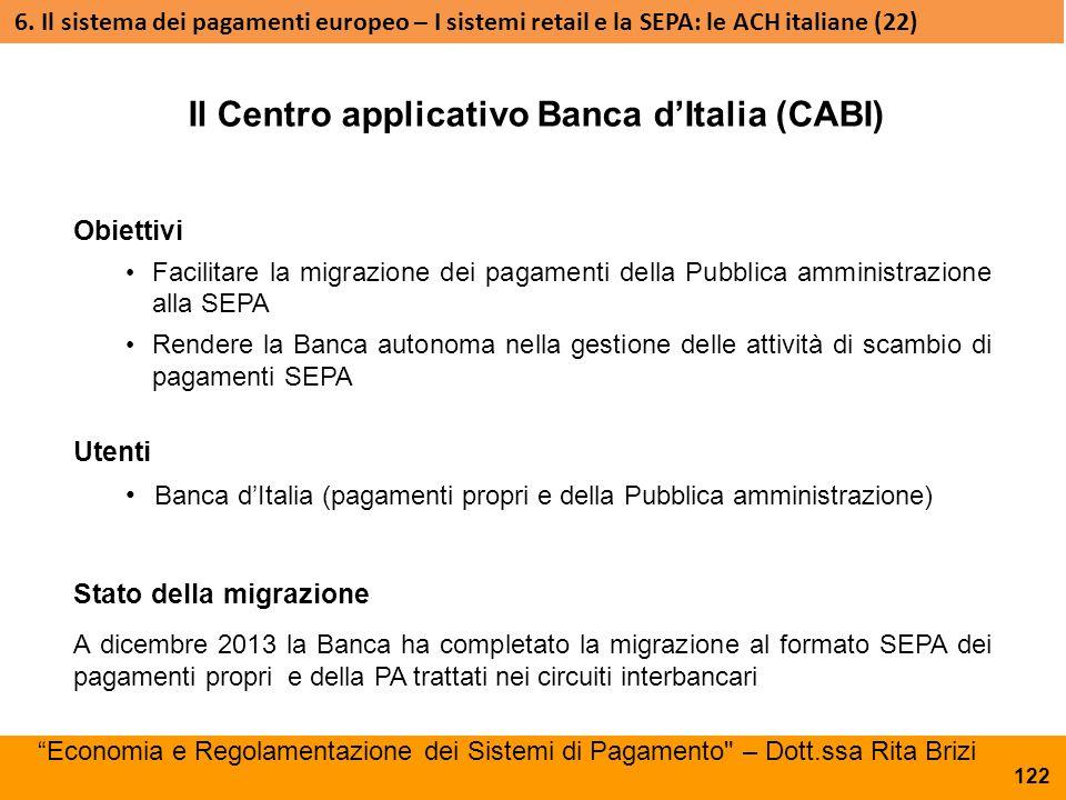Obiettivi Facilitare la migrazione dei pagamenti della Pubblica amministrazione alla SEPA Rendere la Banca autonoma nella gestione delle attività di s