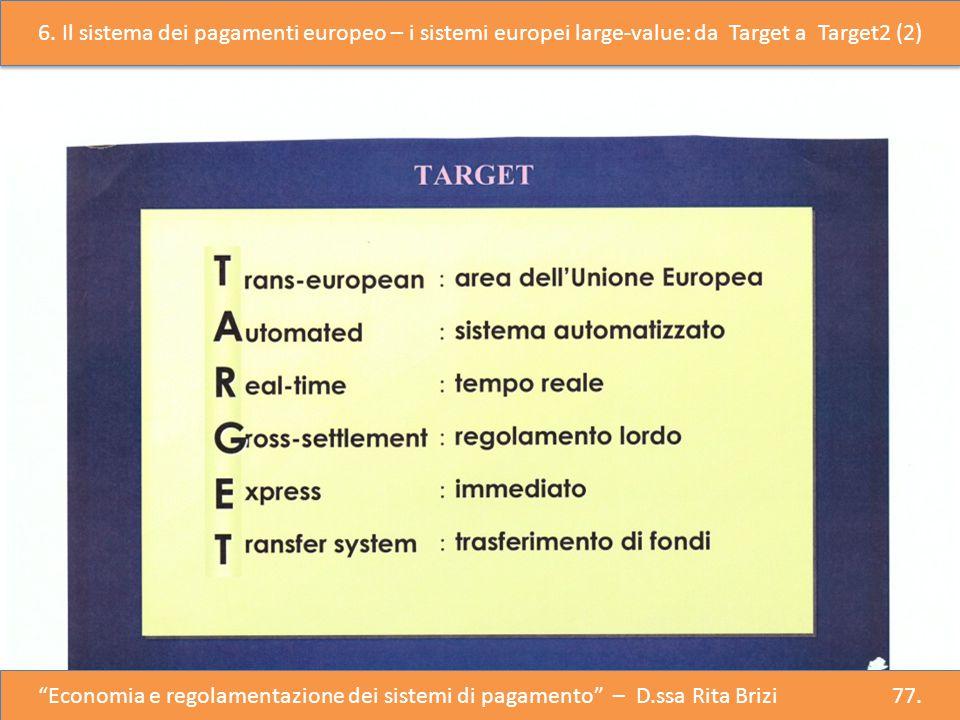 """""""Economia e Regolazione del Sistema dei Pagamenti"""