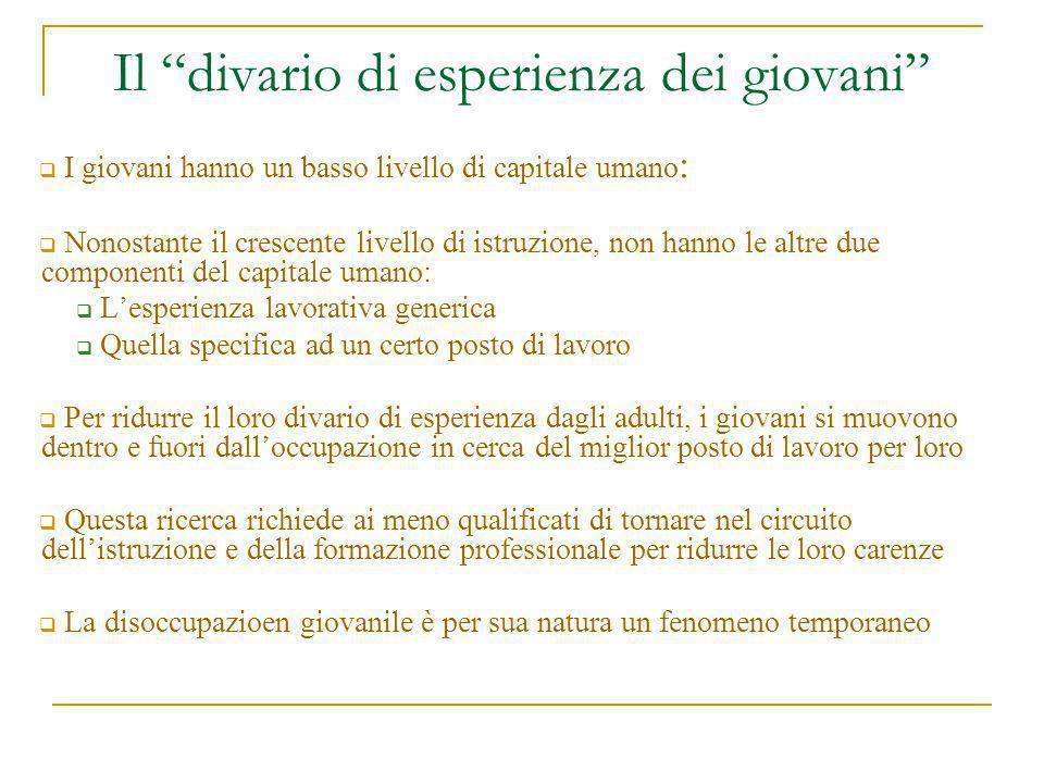 Approccio liberista (ottimista) Why to bother.