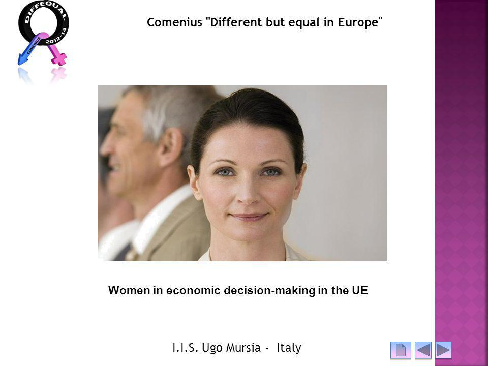 Women in economic decision-making in the UE Comenius