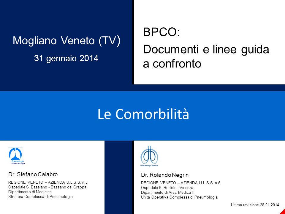 Beta bloccanti e BPCO Short PM, Lipworth, SIW, Elder DHJ, et al.