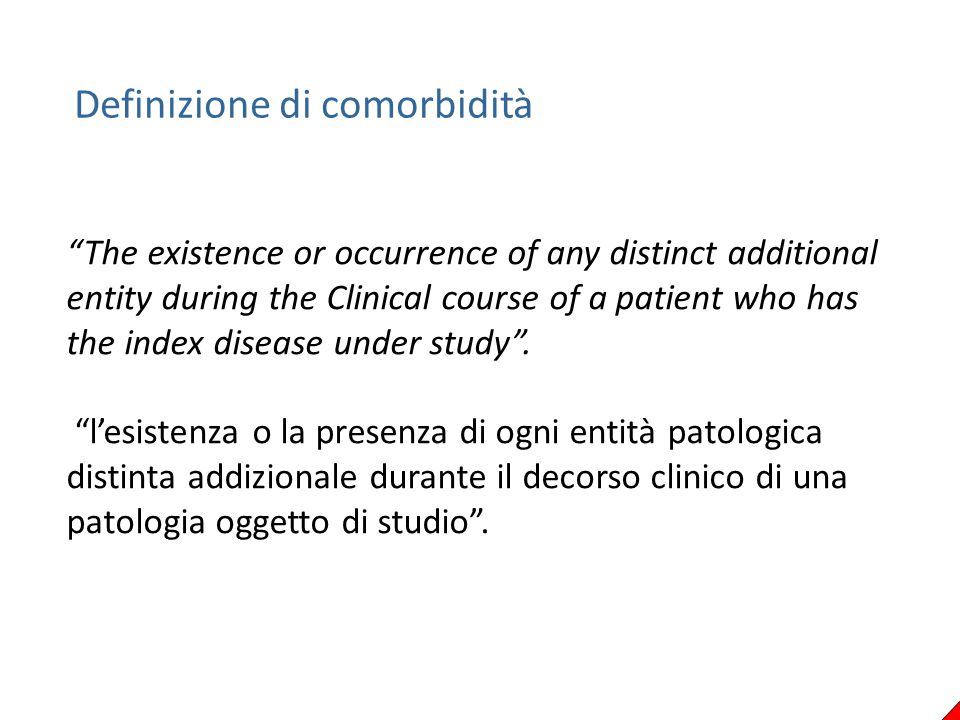 Comorbidity constructs Valderas JM, Starfield B, Sibbald B, et al.