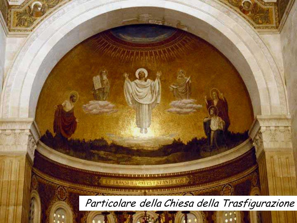 Particolare della Chiesa della Trasfigurazione