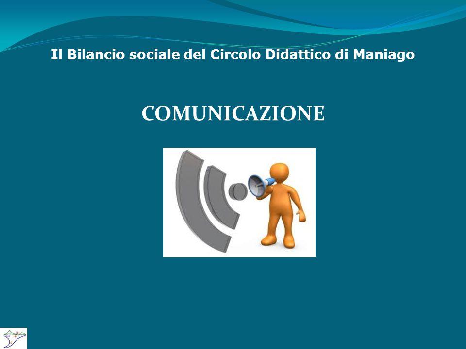 Il Bilancio sociale del Circolo Didattico di Maniago COMUNICAZIONE