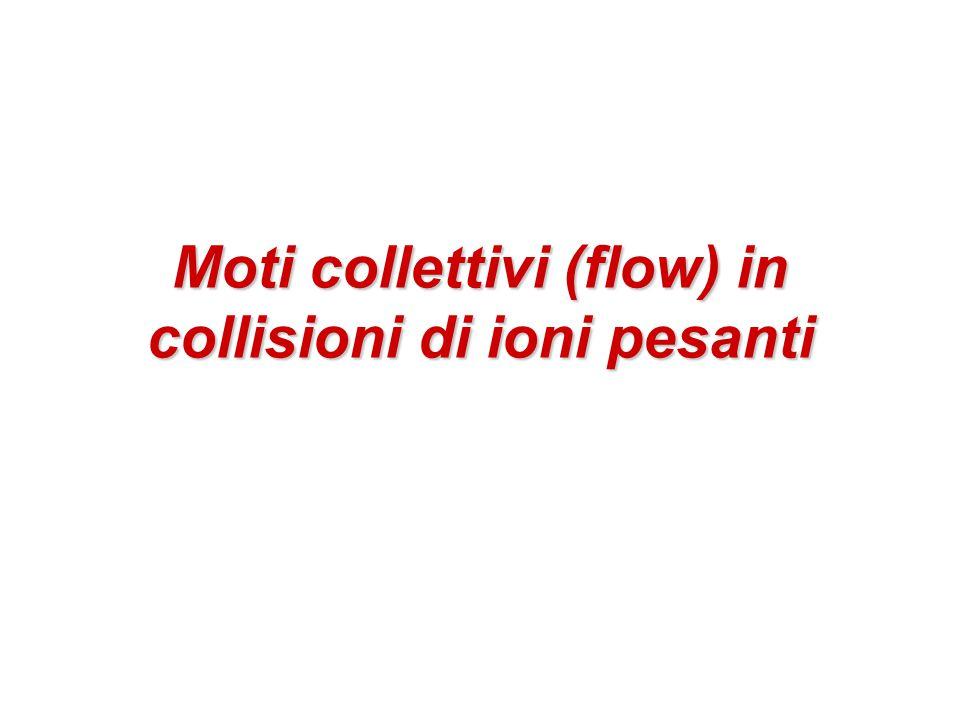 Moti collettivi (flow) in collisioni di ioni pesanti